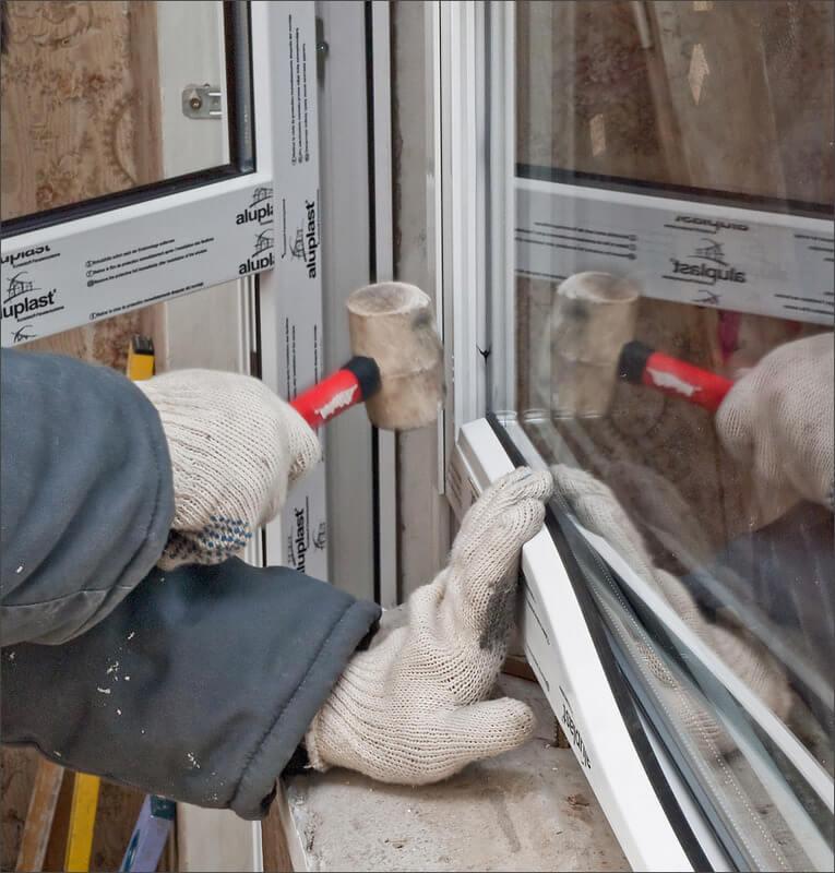 ремонт аллюминиевых дверей