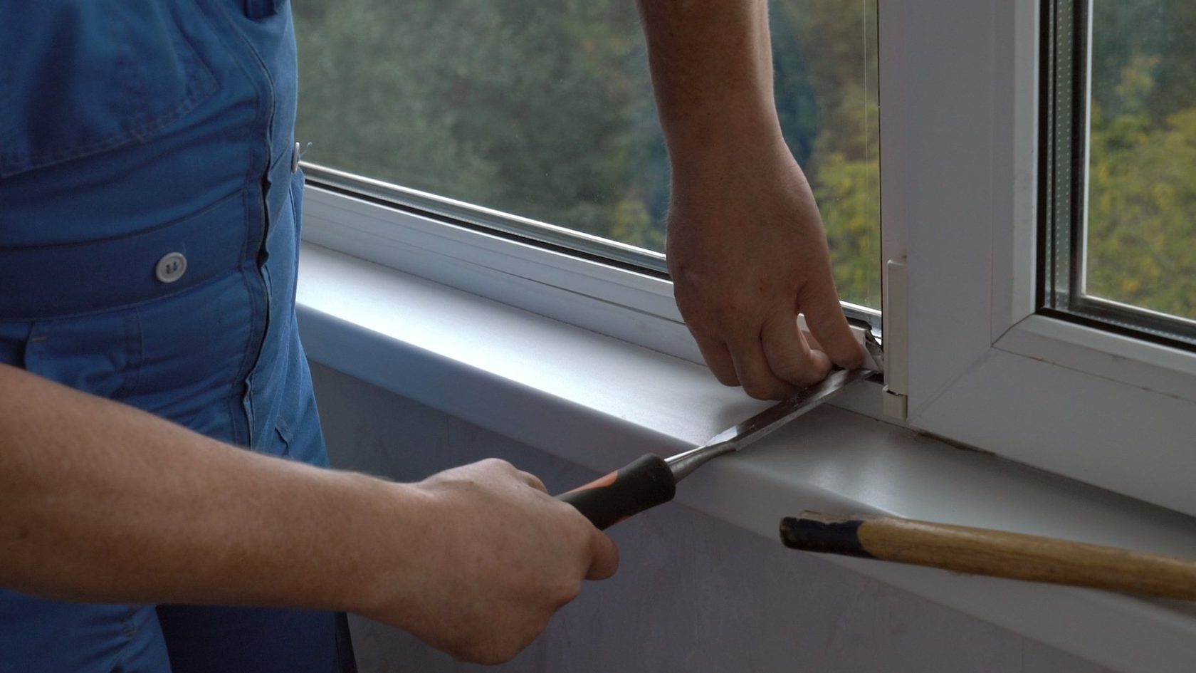 Реставрация алюминиевых окон