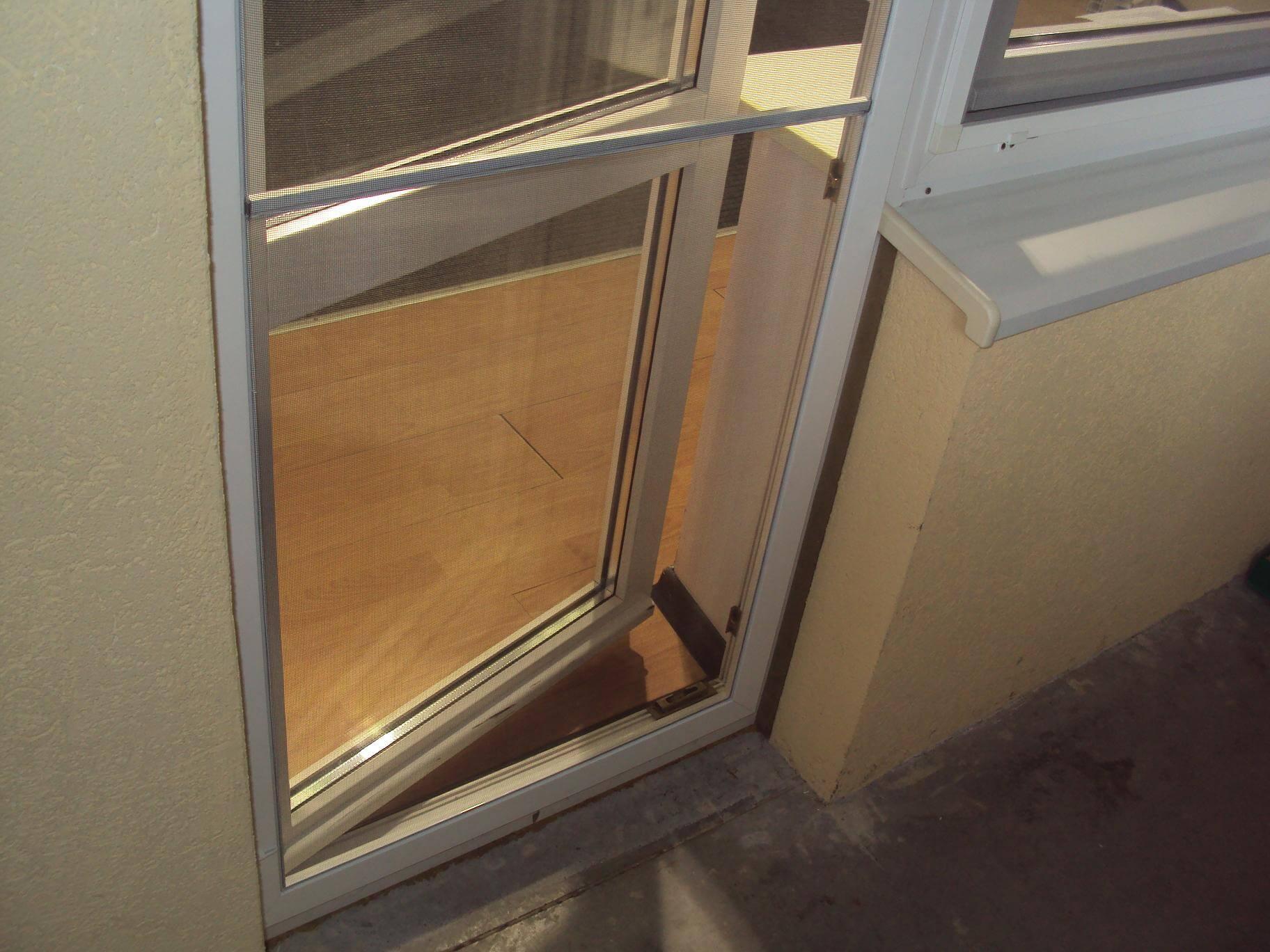 Москитная дверная сетка