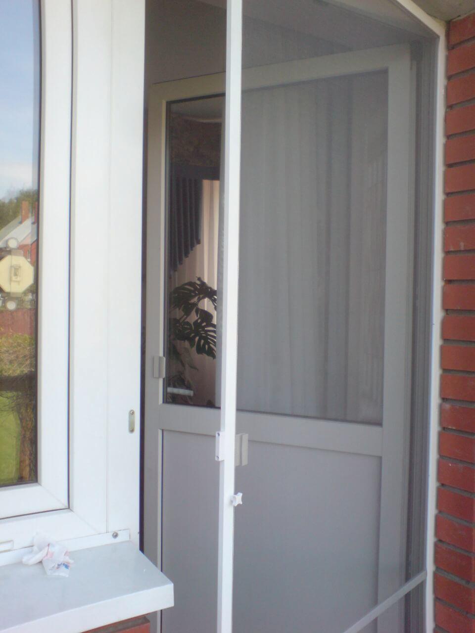 Москитная сетка на дверь особенности
